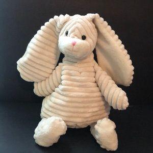 Sound N Light corduroy plush floppy bunny rabbit